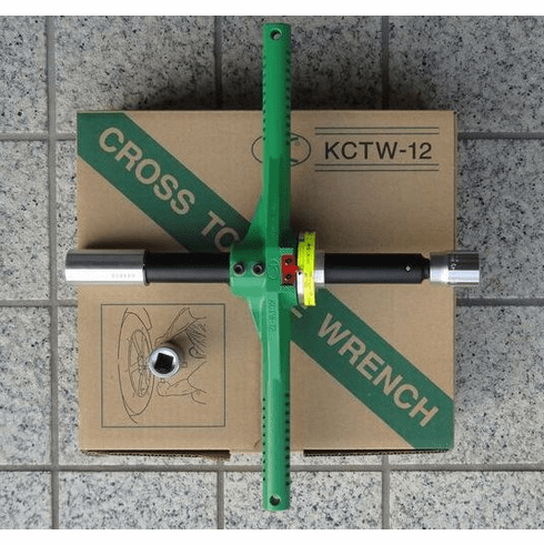 Kuken KTCW-12 Wheel Cross Handle Torque Wrench ( Now Back in Stock!)