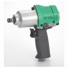 Kuken Ultra-Light N-Type Impact Wrench, 1/2dr. KW-1600prol  (Free Shipping)