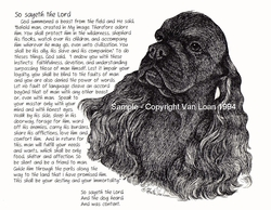 "American Cocker Spaniel ""So Sayeth"" Limited Edition Print"