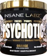 Insane Labz Psychotic Gold 30 Servings