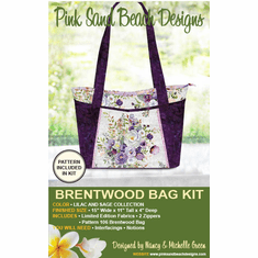 106K Brentwood Bag KIT - Lilac & Sage