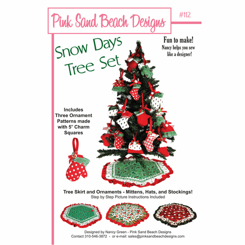 #112 Snow Days Tree Set