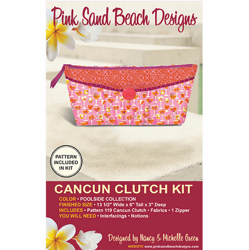 119K Cancun Clutch KIT - Poolside
