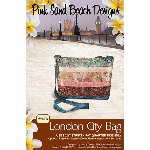 #123 London City Bag