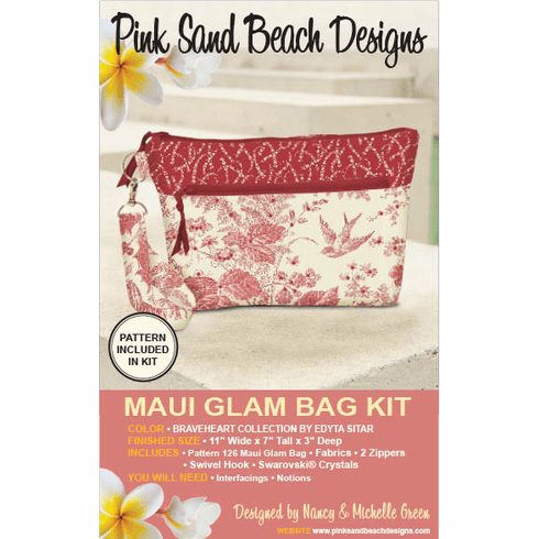 126K Maui Glam Bag KIT - Braveheart