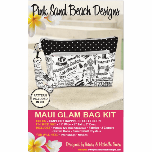 126K Maui Glam Bag KIT - Can't Buy Happiness