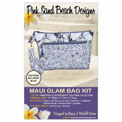 126K Maui Glam Bag KIT - Pinkerville Daydream by Tula Pink