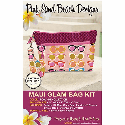126K Maui Glam Bag KIT - Poolside