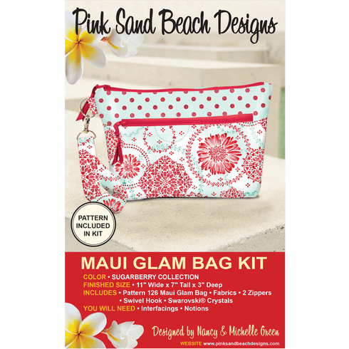 126K Maui Glam Bag KIT - Sugar Berry