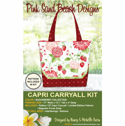 127K Capri Carryall KIT - Sugar Berry