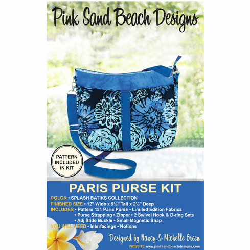 131K Paris Purse KIT - Splash Batiks