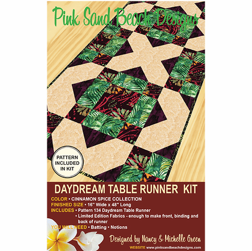 134K Daydream Table Runner KIT - Cinnamon Spice