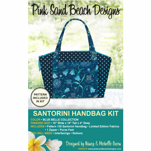 135K Santorini Handbag KIT - Blue Belle