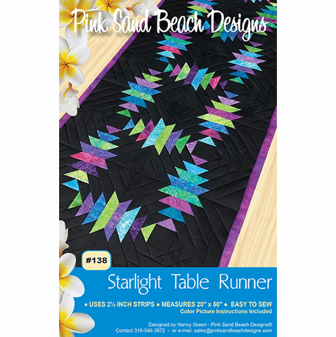 #138 Starlight Table Runner