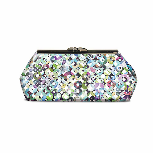 230K Modern Clutch Fabric Kit - Wildflower Reflections (NO PATTERN OR FRAME)