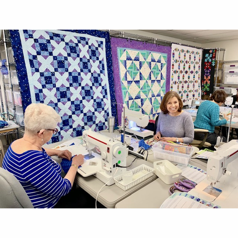 Sit N Sews - Ongoing Weekly (Tues & Wed 1pm-4pm, Friday 11-2 pm)