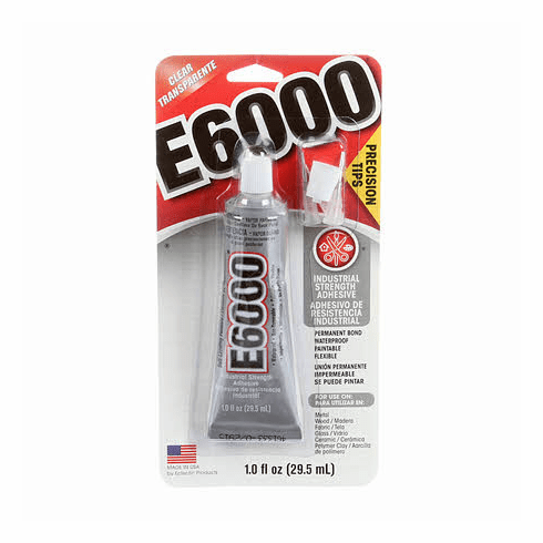 E6000 Glue with Micro Tip