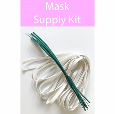 FREE - Mask Supply Kit - For making 12 Fabric Masks -