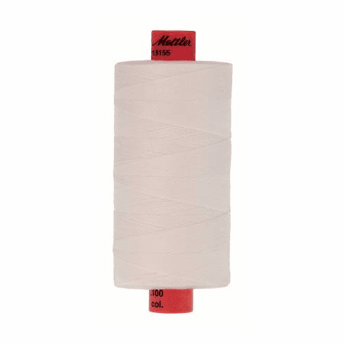 Metrosene Poly Thread 50wt 1000m/1094yds - WHITE