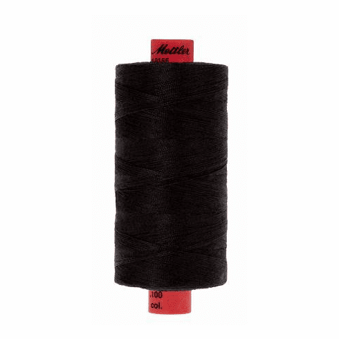 Metrosene Poly Thread 50wt 1000m/1094yds - BLACK