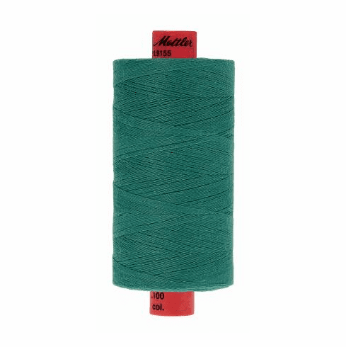 Metrosene Poly Thread 50wt 1000m/1094yds - DEEP AQUA