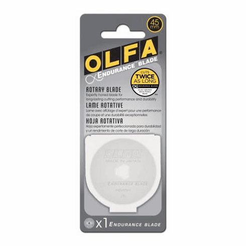 Olfa Endurance Rotary Replacement Blade 45mm
