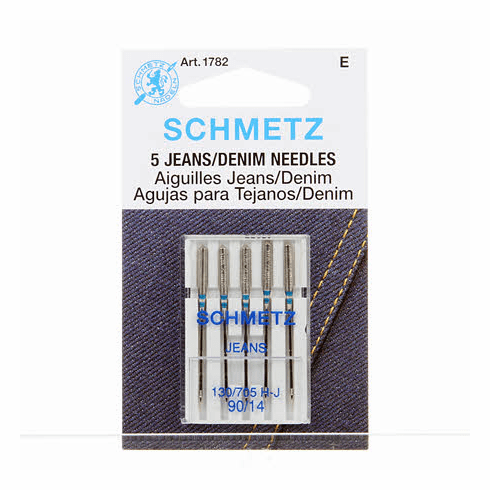 Schmetz Denim/Jeans Machine Needle Size 14/90