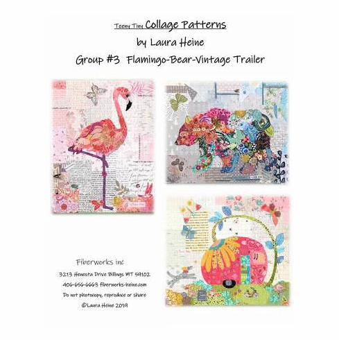 Sew A Laura Heine Collage - Saturday Nov 23, 2019 (12pm-4pm)