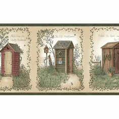 872290 Outhouses Wallpaper Border  FF11001 bbc50321b