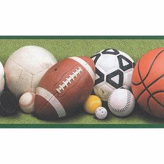 877319 Sports Balls Wallpaper Border 40808510