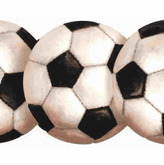877436 Diecut Soccer Wallpaper Border  BT2900b KD0466b