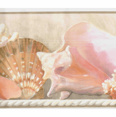 877712 Sea Shells Wallpaper Border WT1130bcs