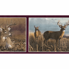 877773 Deer Wallpaper Border