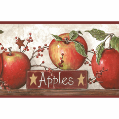 877803 Apples Wallpaper Border CB5557bd