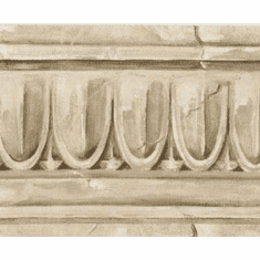 877972 Architectural Crown Moulding Wallpaper Border