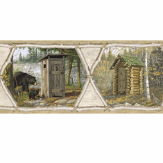 878313 Outhouse Collection Wallpaper Border HTM48551b