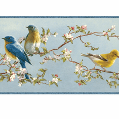 878315 Songbird Wallpaper Border