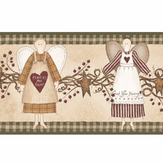 878430 Angels Wallpaper Border YC3310bd