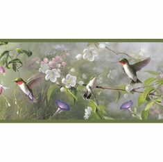 878474 Hummingbirds Wallpaper Border