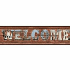 878896 Welcome To Our Home Wallpaper Border AC4422bd