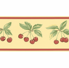 878910 Cherries Wallpaper Border FK78463
