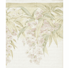 878957 Satin Floral Wallpaper Border