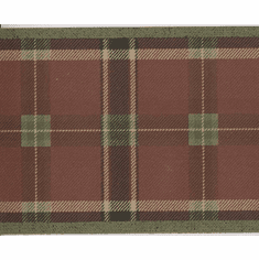 879061 Green & Burgundy Plaid Wallpaper Border CTY14501b