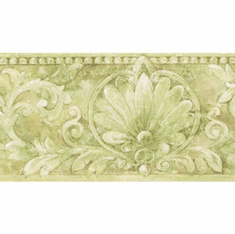 879062 Acanthus and Scrolls Architectural Wallpaper Border IL42009b