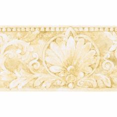 879064 Acanthus and Scrolls Architectural Wallpaper Border IL42008b