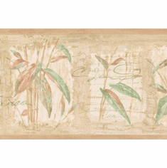 879185 Tropical Bamboo With Script Wallpaper Border 88b06502