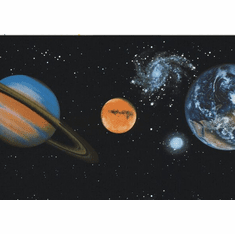 879188 NASA Space Planets Wallpaper Border