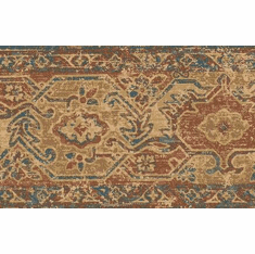 879210 Folklore Rug Design Wallpaper Border