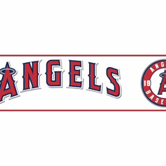 879235 LA Angels Wallpaper Border