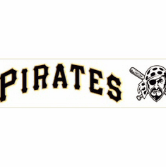 879240 Pittsburgh Pirates Wallpaper Border